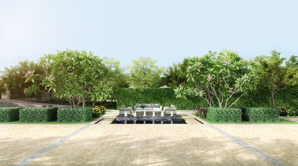 Central Courtyard * #